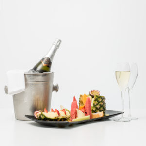 Prosecco With Fruit Platter