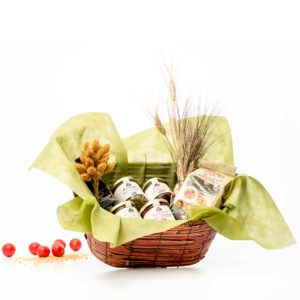 Gift Basket With Local Products